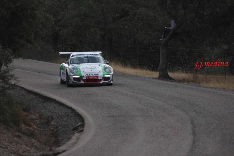 José Antonio Aznar-José Crisanto Galán, Porsche 997 Gt3 Cup Rallye 2011