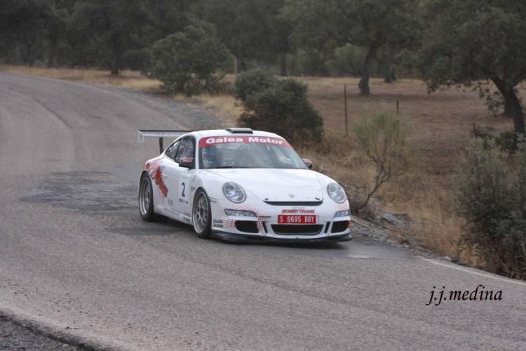 Pedro Cordero-Francisco Cruz, Porsche 997 Gt3 Cup Rallye 2008