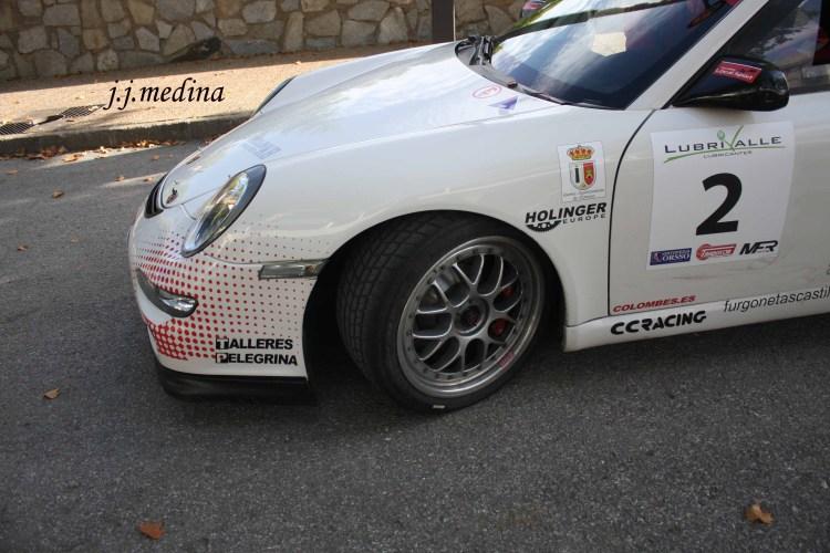 Rueda de agua del Porsche de Pedro Cordero