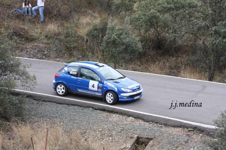Francisco Molino-IIván Urea, Peugeot 206 XS