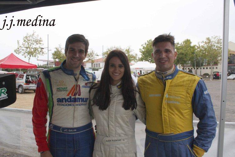 José Crisanto, Luisa y Rafael Galán de la Fuente