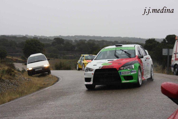José Antonio Caballero-Víctor Barba, Mitsubishi Lancer Evo X