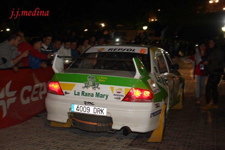 Jorge del Cid Nerea Odriozola, Mitsubishi Evo IX