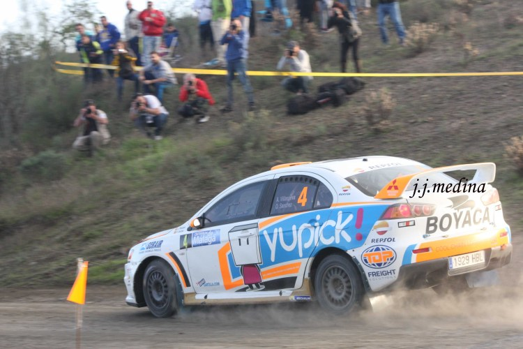 Alex Villanueva-Oscar Sánchez, Mitsubishi Evo X
