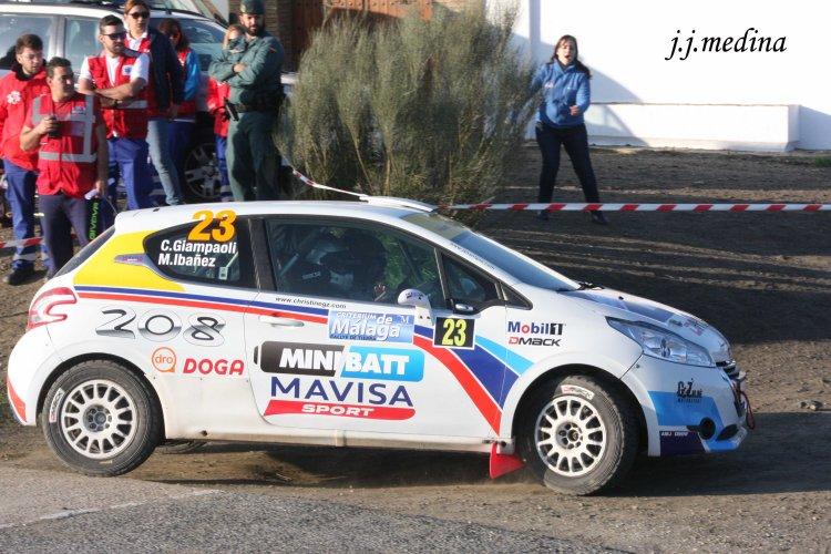 Cristine Giampaoli-Miquel Ibáñlez, Peugeot 208 R2