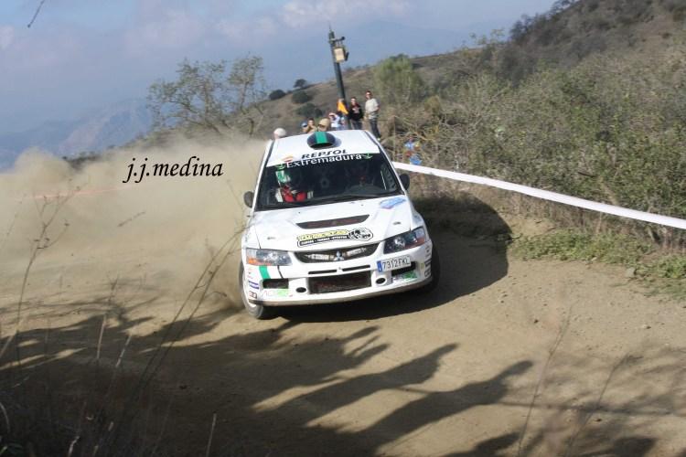 David Quijada-Daniel Canelo, Mitsubishi Evo IX