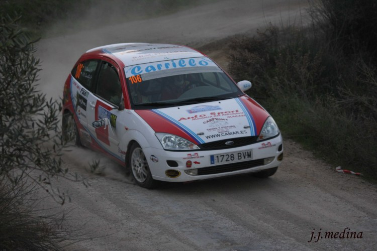 Antonio Rubio-Rubén Domene, Ford Focus