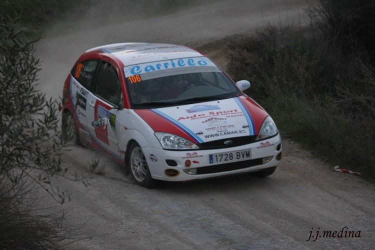 Antonio Rubio-Rubén Domene, Ford Focus