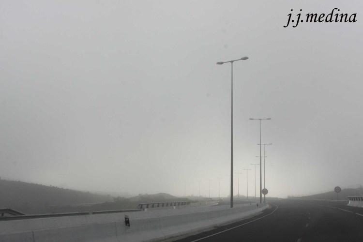 Niebla en la Autovía A40