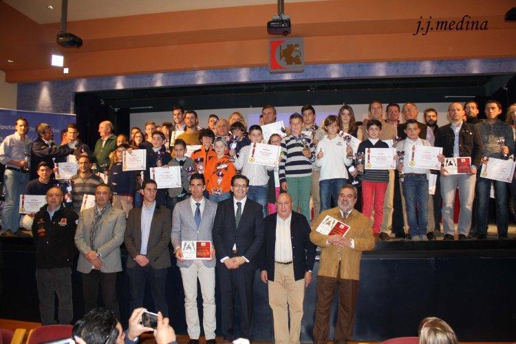 Enero entrega de premios Campeonato Provincial de Motocross de Córdoba