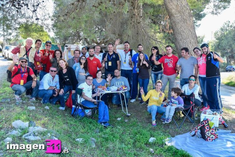 Noviembre, aficionados en el Criterium de Málaga