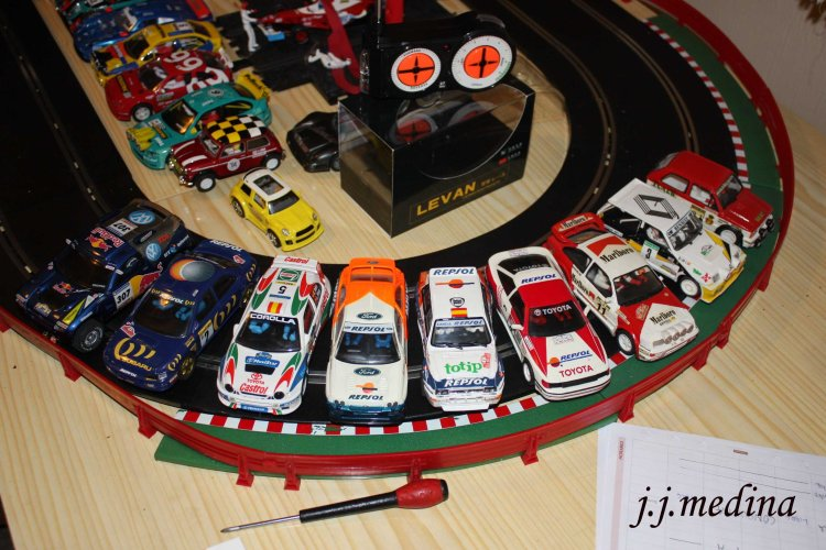 2 Coches scalextric Carlos Sainz copia