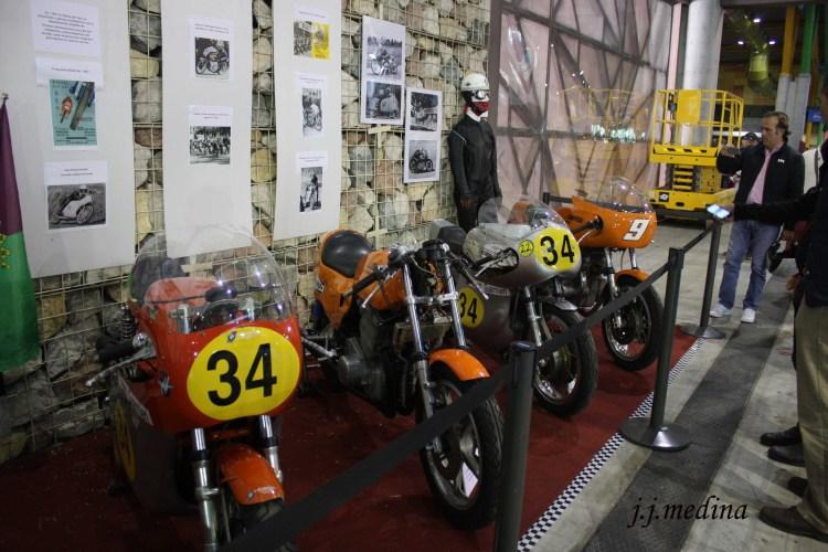 Stand del Málaga Moto Club