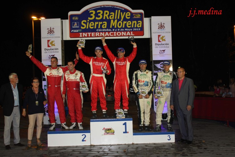 Mayo, Podium Rallye Sierra Morena