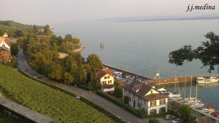 Agosto, Meersburg y el lago Constanza