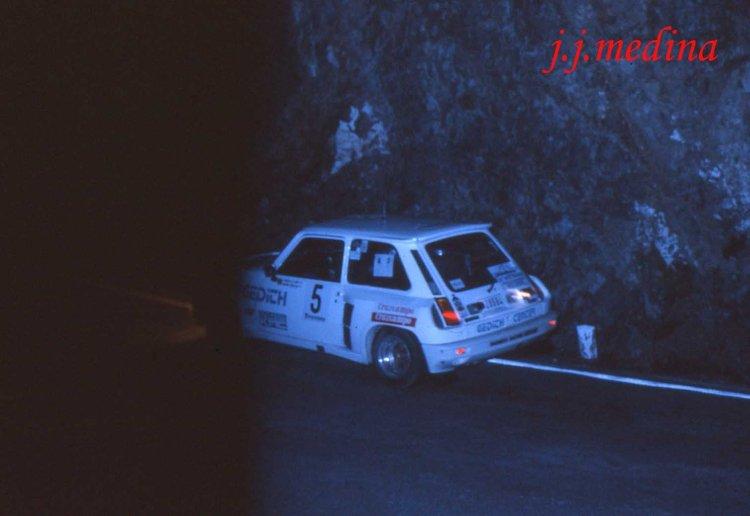 9 Rallye Málaga 84