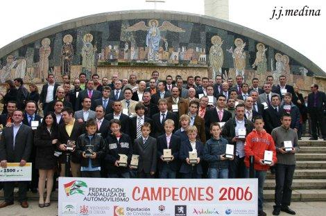 Palmarés histórico de los Campeonatos de Andalucía deAutomovilismo