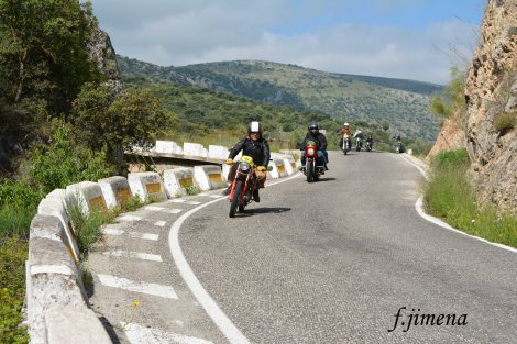 Ruta Baena Oliva Virgen 2019 de motosclásicas