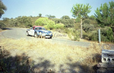 II Rallye Sierra Morena(1979)